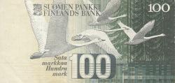 Image #2 of 100 Markkaa 1986 (1991) - signatures Holkeri / Vanhala