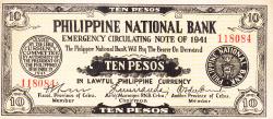 Image #1 of 10 Pesos 1941 (29. XII.)