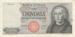 Image #1 of 5000 Lire 1968 (4. I.)