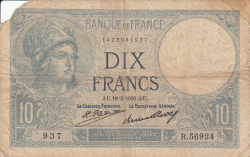 Image #1 of 10 Francs 1931 (19. III.)