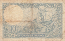 Image #2 of 10 Francs 1931 (3. IX.)