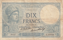 Image #1 of 10 Francs 1931 (3. IX.)