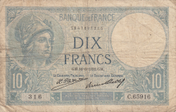 Image #1 of 10 Francs 1932 (16. VI.)