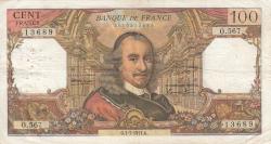 100 Franci 1971 (1. VII.)