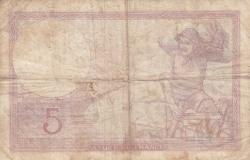 Imaginea #2 a 5 Franci 1939 (14. IX.)