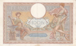 Image #2 of 100 Francs 1938 (9. VI.)