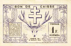 Imaginea #2 a 1 Franc 1942 (15. VII.)