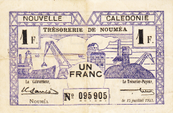 Imaginea #1 a 1 Franc 1942 (15. VII.)