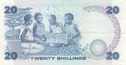 Image #2 of 20 Shillings 1987 (1. VII.)