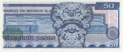 Image #2 of 50 Pesos 1976 (8. VII.) - Serie EG