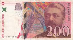 Image #1 of 200 Francs 1996