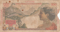 Image #2 of 1 Nouveau Franc on 100 Francs ND (1961)