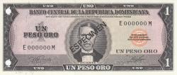 Imaginea #1 a 1 Peso Oro 1977 - SPECIMEN