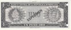 Imaginea #2 a 1 Peso Oro 1977 - SPECIMEN