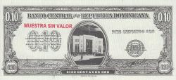 Imaginea #1 a 10 Centavos Oro ND (1961) - SPECIMEN