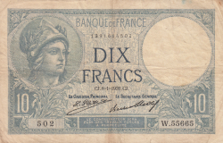 Image #1 of 10 Francs 1931 (8. I.)