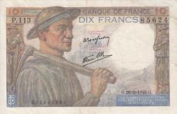 Imaginea #1 a 10 Franci 1946 (26. IX.)
