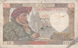 Imaginea #1 a 50 Franci 1940 (13. VI.)