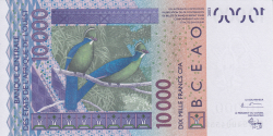 Image #2 of 10,000 Francs (20)03