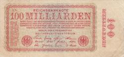 Image #1 of 100 Milliarden (100 000 000 000) Mark 1923 (5. XI.) - 2