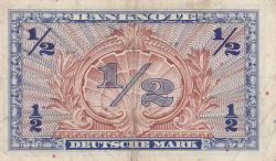 Image #2 of 1/2 Deutsche Mark 1948