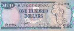 Image #1 of 100 Dollars ND (1989) - signatures Archibald Meredith / Carl Greenidge