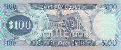 Image #2 of 100 Dollars ND (1989) - signatures Archibald Meredith / Carl Greenidge