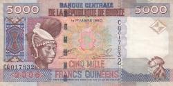 Image #1 of 5000 Francs 2006