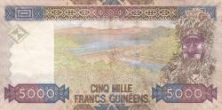 Image #2 of 5000 Francs 2006