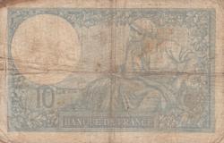 Imaginea #2 a 10 Franci 1939 (17. VIII.)