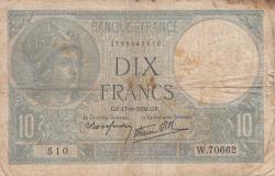 Imaginea #1 a 10 Franci 1939 (17. VIII.)