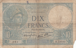 Imaginea #1 a 10 Franci 1939 (5. X.)