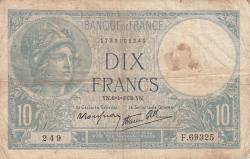 Imaginea #1 a 10 Franci 1939 (6. IV.)