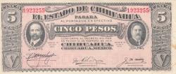 Image #1 of 5 Pesos 1915 (1. IX.)