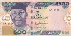 Imaginea #1 a 500 Naira 2010