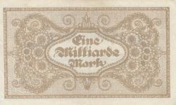 Image #2 of 1 Milliarde (1 000 000 000) Mark 1923 (20. VIII.)