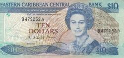 Image #1 of 10 Dolari ND (1985-1993)