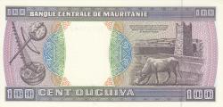 Imaginea #2 a 100 Ouguiya 1999 (28. XI.)