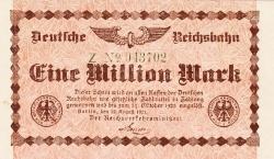 Image #1 of 1 Million (1 000 000) Mark 1923 (12. VIII.) - 1