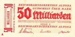 Image #1 of 50 Milliarden (50 000 000 000) Mark 1923 (23. X.)