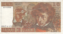 Image #1 of 10 Francs 1978 (2. III.)