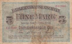 Imaginea #1 a 5 Mark 1918 (4. IV.)