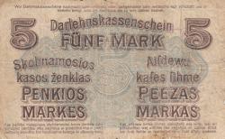 Imaginea #2 a 5 Mark 1918 (4. IV.)