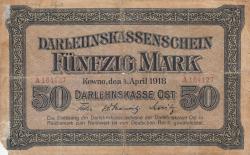 Image #1 of 50 Mark 1918 (4. IV.)