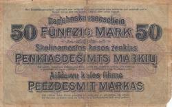 Imaginea #2 a 50 Mark 1918 (4. IV.)