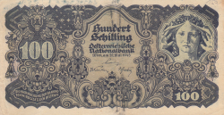 Image #1 of 100 Schilling 1945 (29. V.) - 1