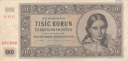 Image #1 of 1000 Korun 1945 (16. V.)