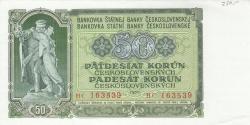 Image #1 of 50 Korun 1953