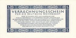 Image #2 of 5 Reichsmark 1944 (15. IX.)