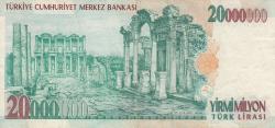 20,000,000 Lira L.1970 (2000)